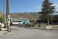 Chora of Andros, bus station, park, sheeps, 090608.jpg
