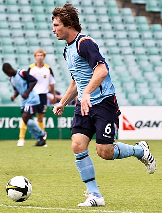 Chris Payne (footballer) - Payne playing for Sydney FC Youth in 2008