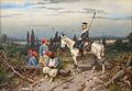 Christian Sell dÄ Preußischer Ulan bewacht französische Kolonialsoldaten.jpg