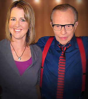 Free & Equal Elections Foundation - Image: Christina with Larry King Retouched Final
