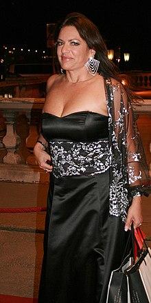 Neubauer at the Romy TV awards in 2008 in Wien