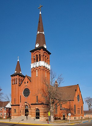 National Register of Historic Places listings in Nobles County, Minnesota - Image: Church of St. Adrian