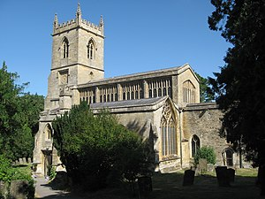 Chipping Norton - St Mary the Virgin parish church, rebuilt circa 1485