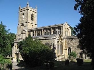 Chipping Norton - St Mary the Virgin parish church, rebuilt circa 1485