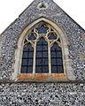 Church of the Holy Trinity chancel east window, East Grimstead, Wiltshire, England.jpg
