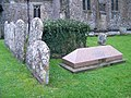 Churchyard, St Andrew's Church - geograph.org.uk - 1662171.jpg