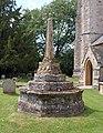 Churchyard cross, Enmore (geograph 1987044).jpg