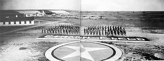 Clarence E. Page Municipal Airport - Photo of graduates of the Army Air Forces contract flight school at Cimarron Field, Oklahoma, 1944