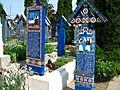 Cimitirul Vesel din Săpânța, județul Maramureș - detalii 03.JPG