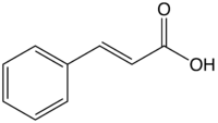 Skeletal formula of the trans form