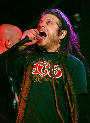 Keith Morris - Morris performing with the Circle Jerks in 2006.