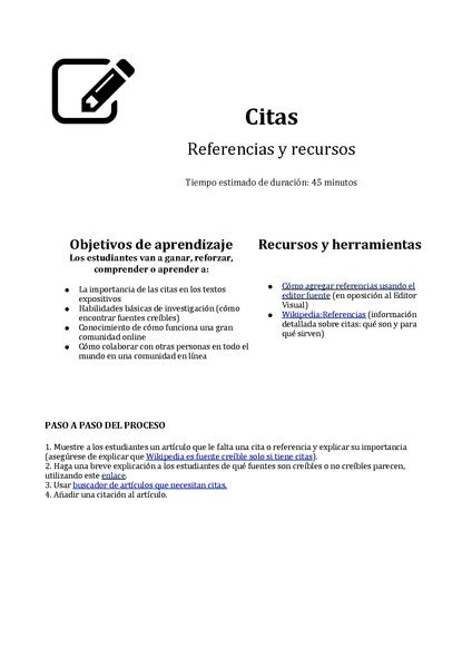 File:Citations (References & Resources) Lesson Plan ES.pdf