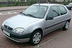 Citroën Saxo po liftingu