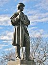 Civil War Soldier Monument by Carl Conrads, Manchester, CT - January 2016.JPG