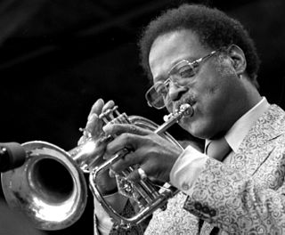Clark Terry American swing and bebop musician