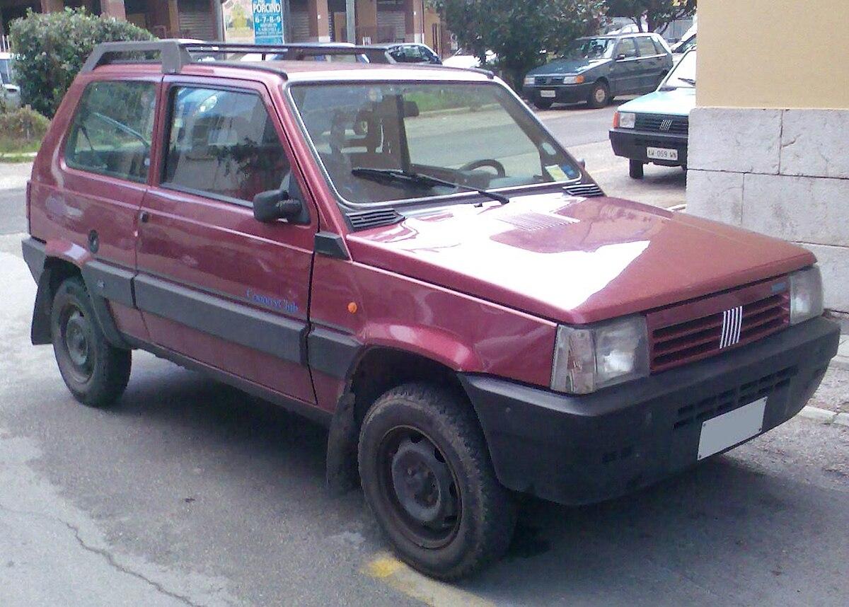 File Classic Fiat Panda 4x4 Cross Country Jpg Wikimedia Commons