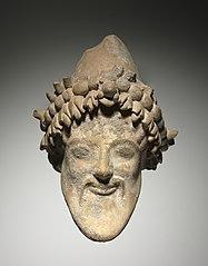 Head of Bearded Dionysus