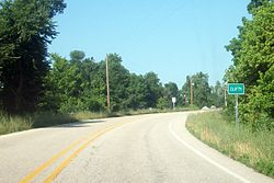 Entrance to Clifty on Highway 12