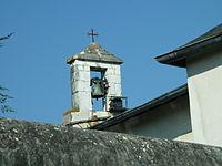 Clocher de l'église de Sarpourenx.JPG