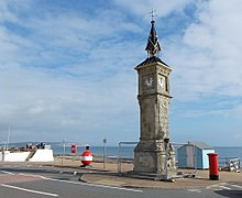 Clock Tower, Shanklin Esplanade, Isle of Wight UK