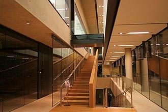 Sainsbury Laboratory Cambridge University - Image: Cmglee Sainsbury Laboratory Cambridge University stairs