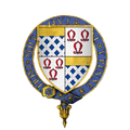 Coat of arms of Sir Anthony St. Leger, KG.png