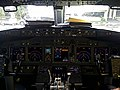 Cockpit Of A Boeing 737-800 PK-GNK At Juanda International Airport,Surabaya.jpg