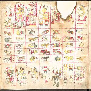 Codex Borgia - Image: Codex Borgia page 2