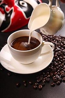 Milk coffee Category of coffee-based drinks