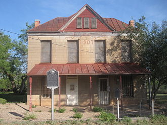 Robert Lee, Texas - The 1907 Coke County Jail