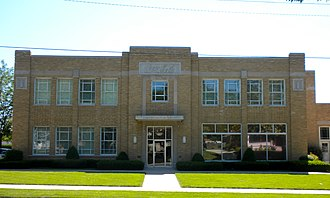 National Register of Historic Places listings in Adams County, Illinois - Image: Coke Quincy IL
