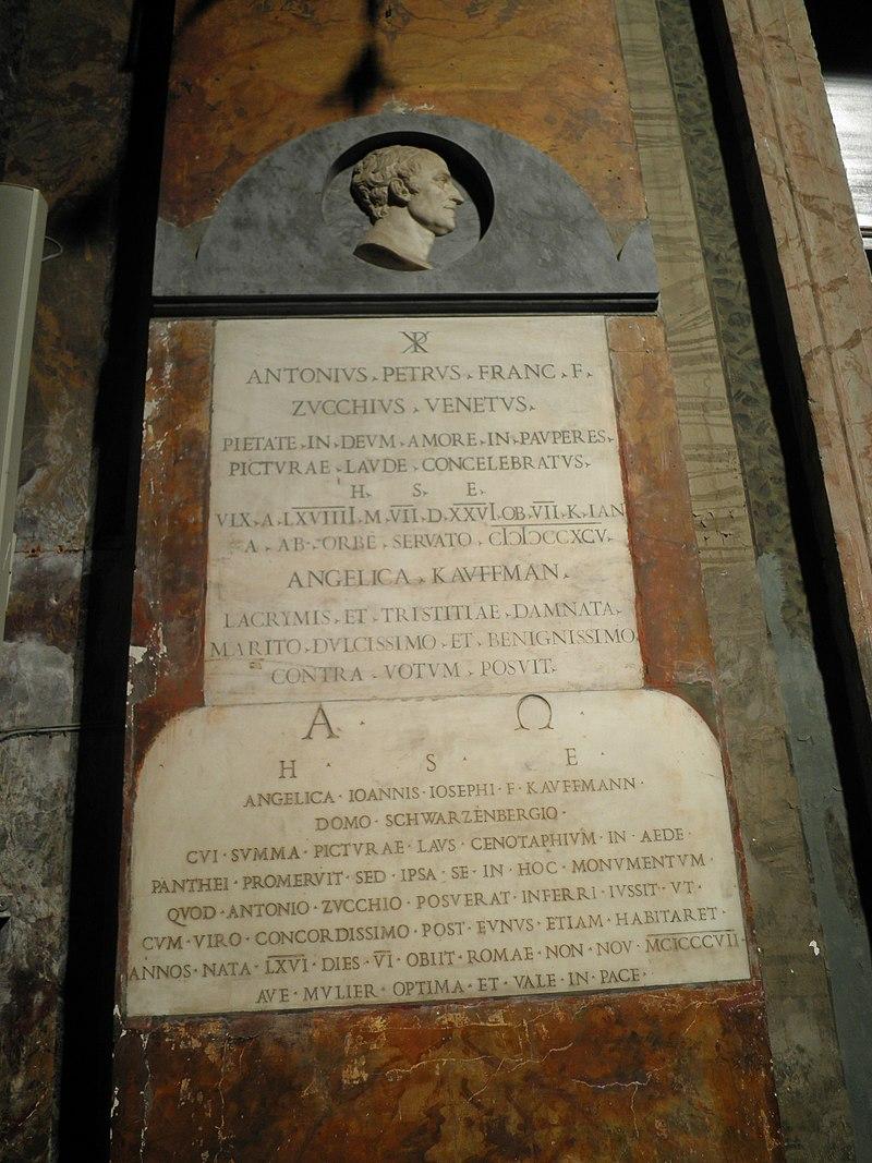 Kolonn - s Andrea delle Frate grav Zucchi och Kauffmann O9250031.JPG