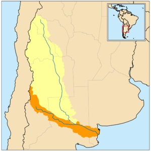 Colorado River Argentina Wikipedia - Argentina map rivers