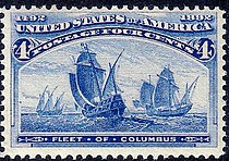 Fleet of Columbus, 4¢