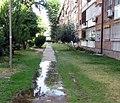 Comienza el ajardinamiento de las zonas verdes de la Colonia del Manzanares 02.jpg