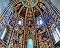 Como Basilica di Sant'Abbondio Interno Coro Affreschi 1.jpg