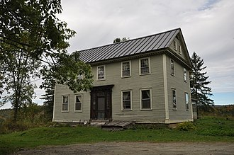 National Register of Historic Places listings in Essex County, Vermont - Image: Concord VT Judge David Hibbard Homestead