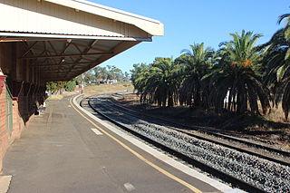 Condobolin railway station Australian railway station