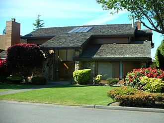 Richmond, British Columbia - Old Richmond home, 2006