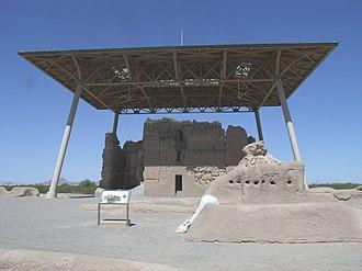 Coolidge, Arizona - Image: Coolidge Casa Grande Ruins National Monument 1450 C.E. 3