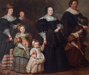 Cornelis de Vos - Self-portrait of the artist and his family