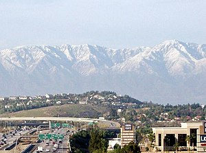 Corona, California - A view of Corona
