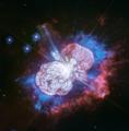 Cosmic Fireworks in Ultraviolet Eta Carinae Nebula.tif
