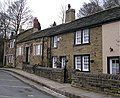 Cottages at West end of Fulneck - geograph.org.uk - 375644.jpg