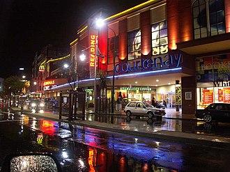Courtenay Place, Wellington - Image: Courtenay Place Readings PICT4985
