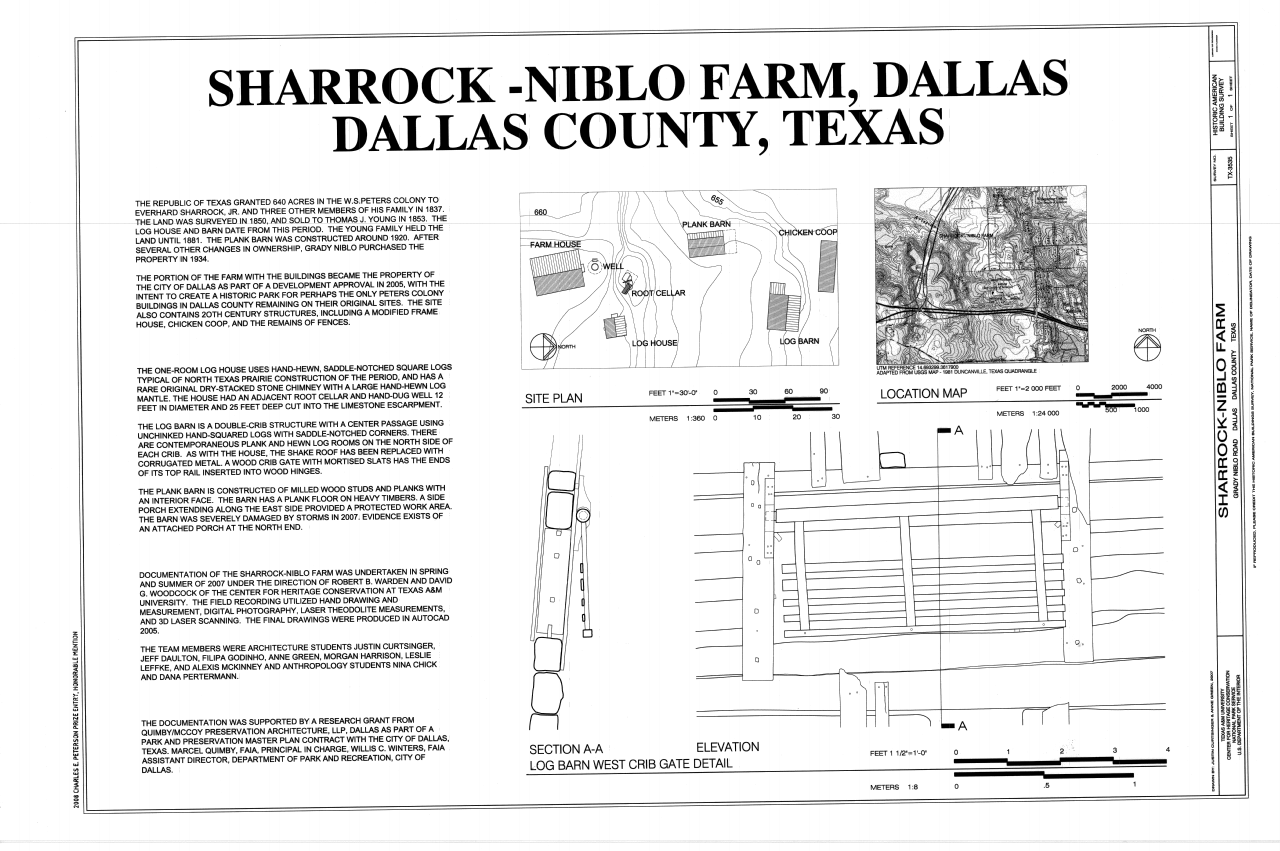 file cover sheet including site plan