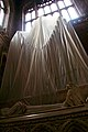 Covered statue, Chester Cathedral.jpg