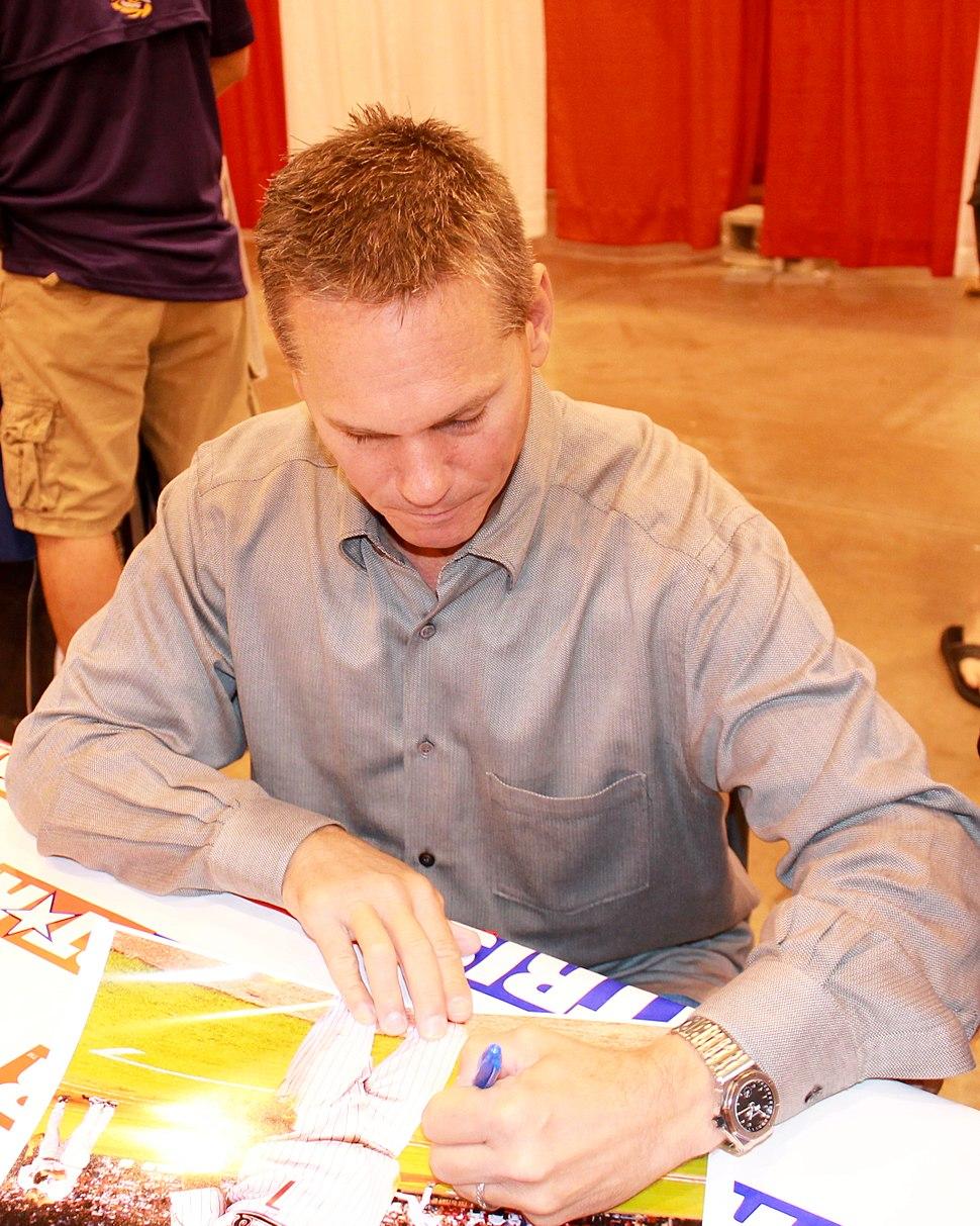 Craig Biggio signs autographs in Houston June 2014