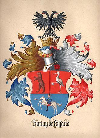 Philipp Sarlay - Crest / Coat of ArmsFamily Sarlay de Kissarló