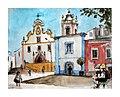 Croquis aquarellé- Portimão - Portugal (10850692035).jpg